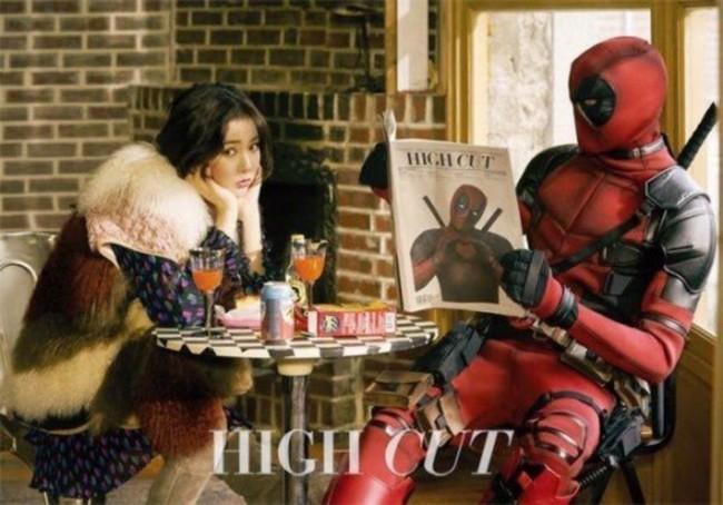 """HyunA vira """"esposa do Deadpool"""" em Photoshoot para magazine"""