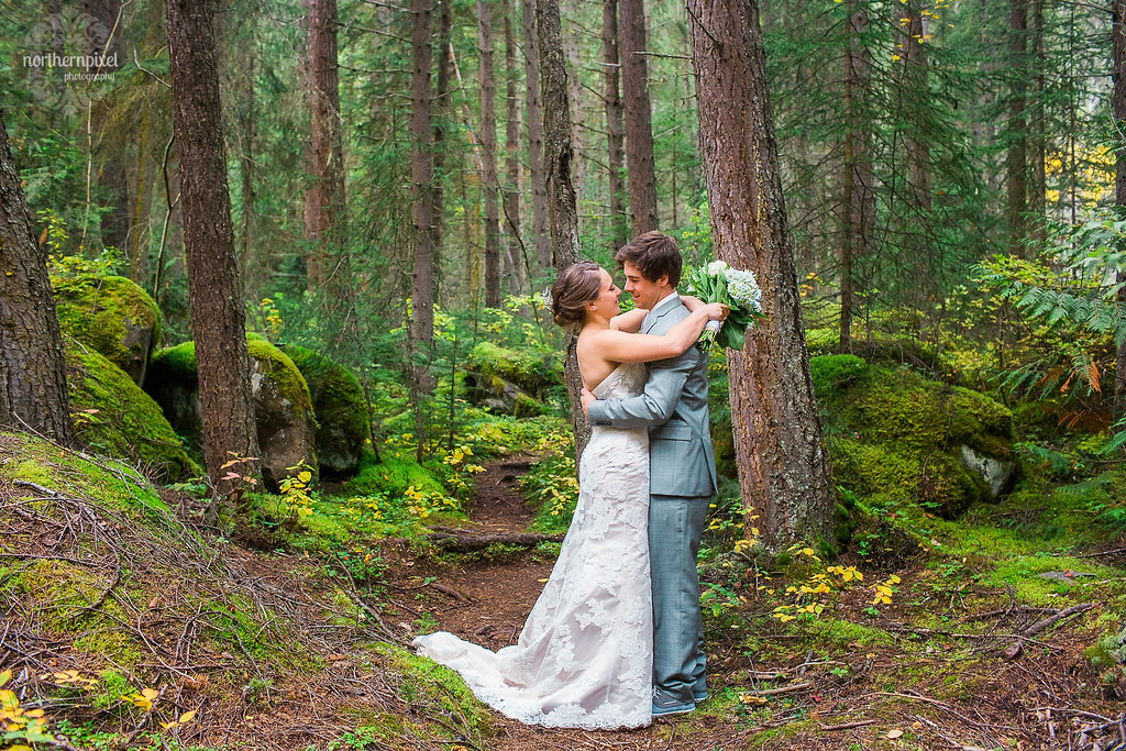 Mount Robson British Columbia Wedding Photography