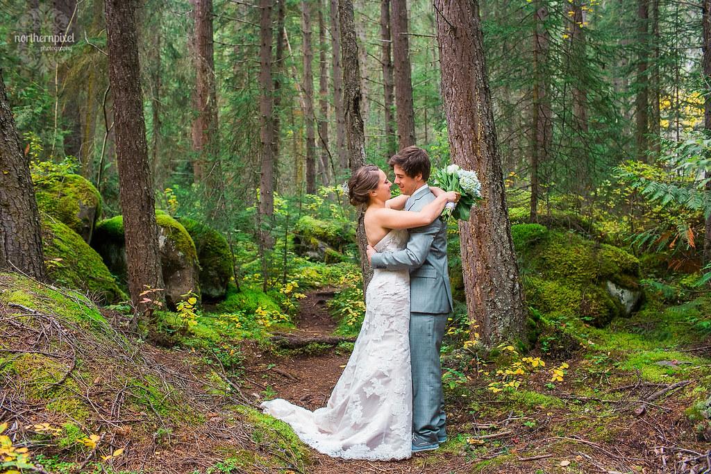 Mount Robson British Columbia Wedding Photography