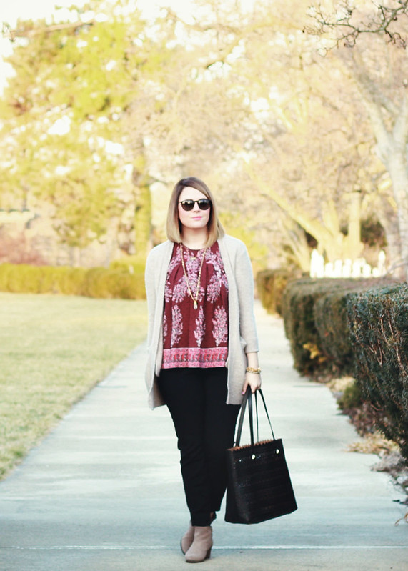 Madewell Floral Top 8
