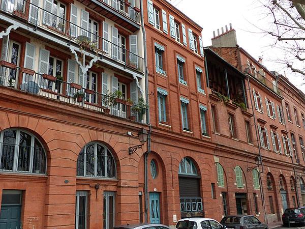 terrasses au bord de la Garonne