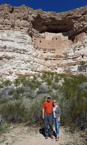 Fred & Laura at Montezuma Castle NM