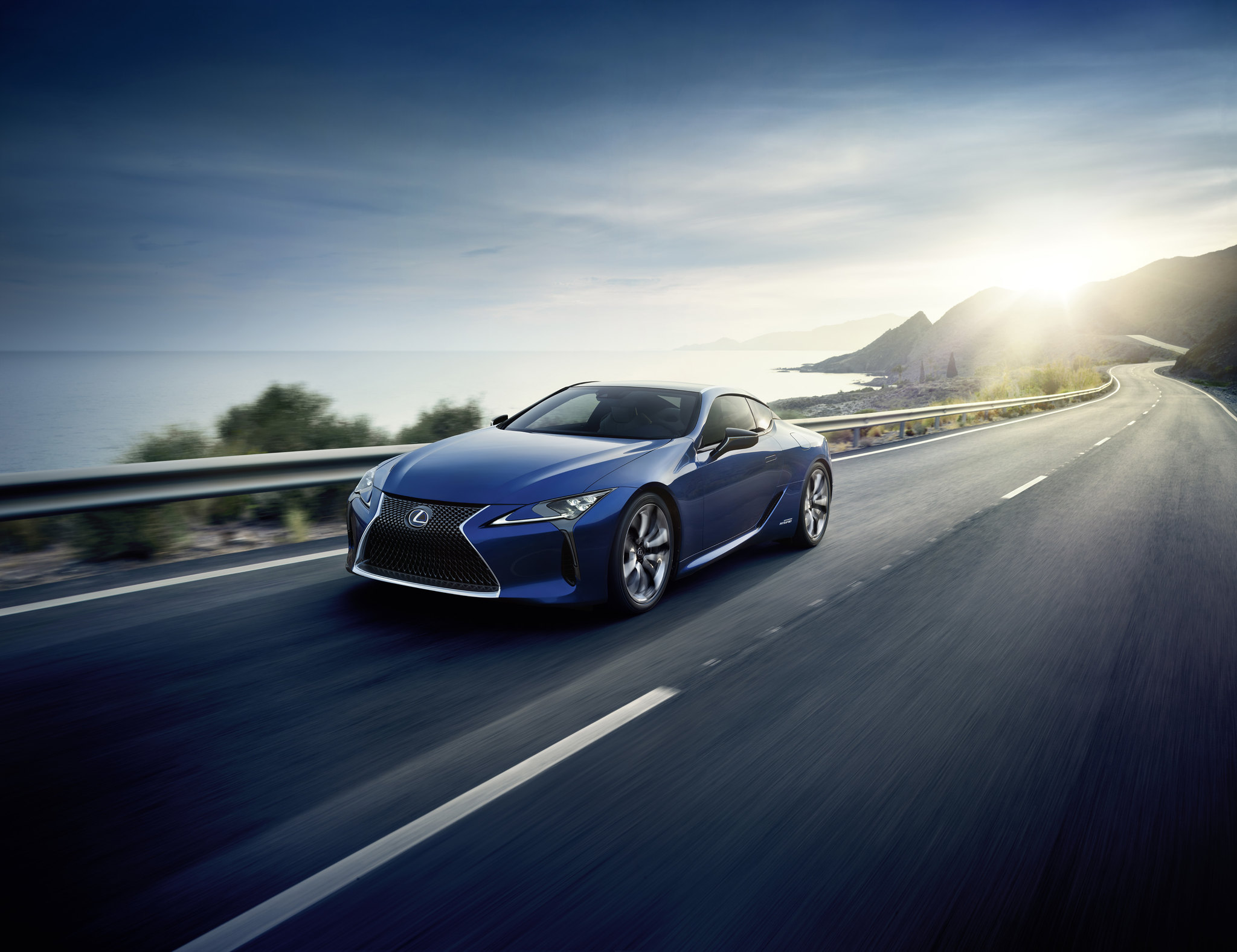 World premiere of the LC 500h features next-gen Lexus Multi Stage Hybrid System