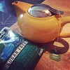 Germy students shared. Yellow teapot filled with magic. :mask::coffee: #iowa #germs