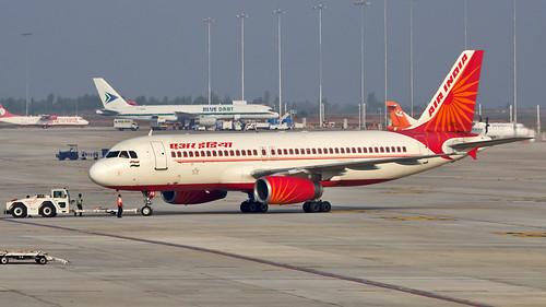 Air India A320 VT-EPB Bangalore (BLR/VOBL)