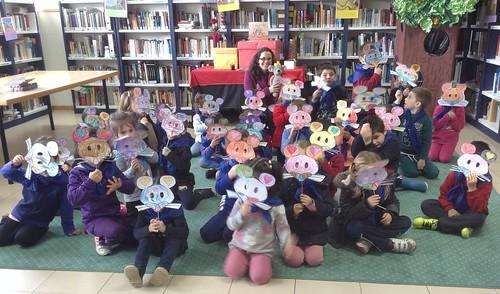 Visita do CEIP Laredo á Biblioteca de Chapela (2)