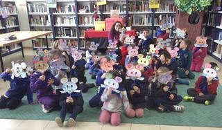 Visita do CEIP Laredo, alumnos de Infantil