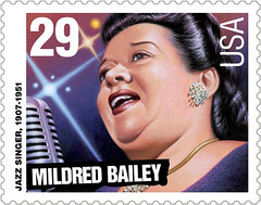 Koslow's Mildred Bailey stamp