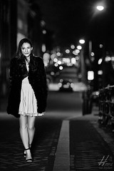 Sera on the Streets of Amsterdam