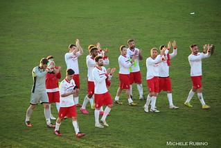 La squadra ringrazia i tifosi
