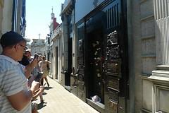 Buenos Aires - Recoletta Duarte Family tourists