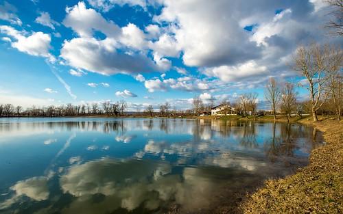 sky clouds cloudy lakes croatia hrvatska nikkor173528 nikond600 zaprešić zajarki lakezajarki jezerozajarki