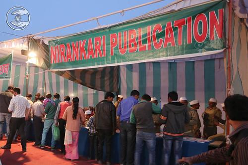 Pavilion of Nirankari Publications in the Samagam Campus