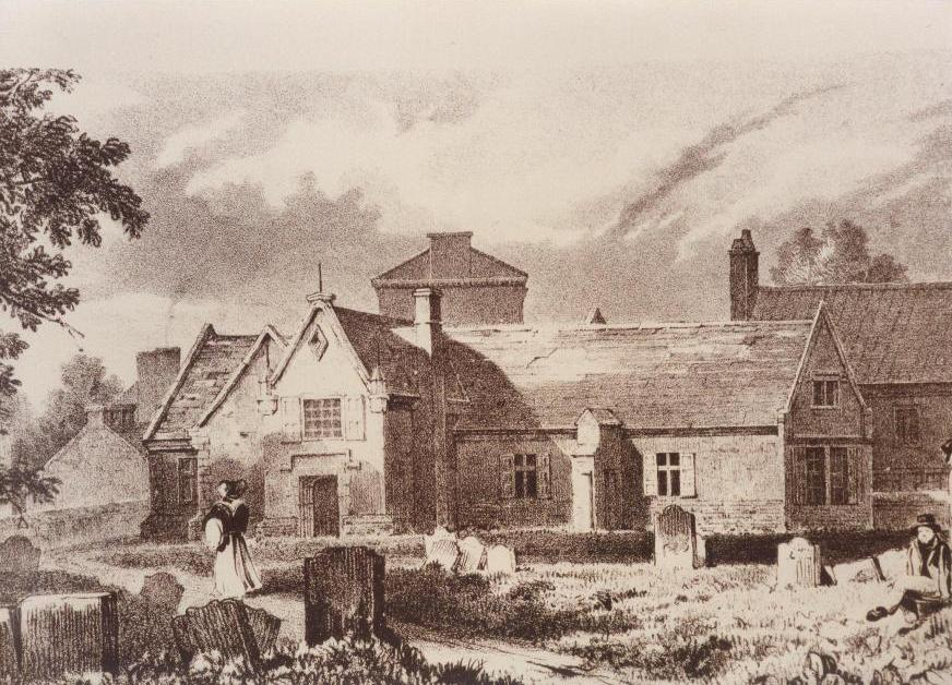 Old Grammar School, Beverley c.1816 (archive ref DDPD-1-8-5)
