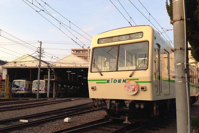 2016/03 叡山電車×NEW GAME! ラッピング車両 #73