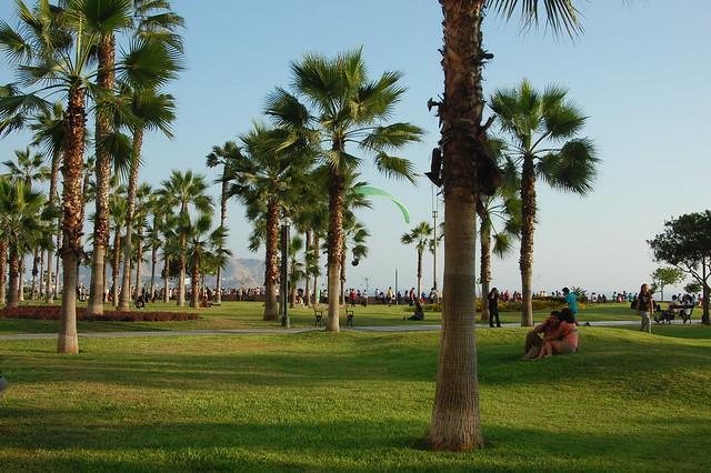 Parque Antonio Raymondi, Miraflores, Lima, Peru