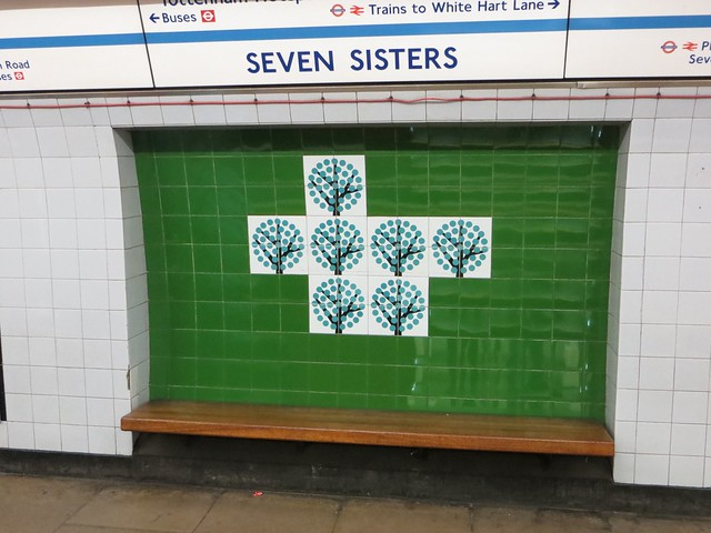 Seven Sisters tiles