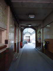 Hidden passage from Margaret Street - Council House Extension