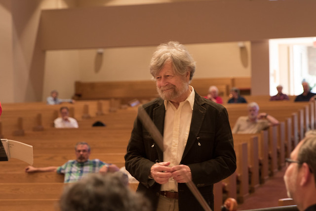 Morten Lauridsen at First Baptist Church