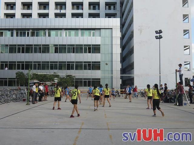 Lịch thi đấu Bóng chuyền nam, bóng chuyền nữ, bóng đá nữ IUH năm 2016