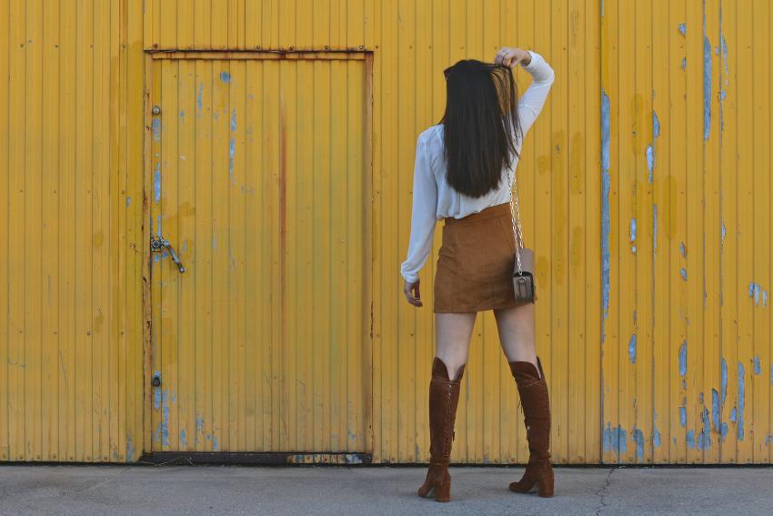 falda-botones-delanteros