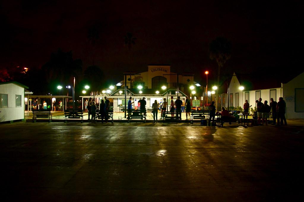 St. Pete Shuffleboard Club Saint Petersburg Florida Retro Roadmap