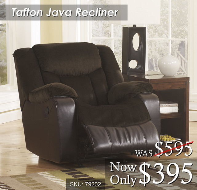 Tafton Java Recliner new