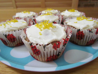 Beetroot and Lemon Cupcakes