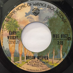 GARY WRIGHT:DREAM WEAVER(LABEL SIDE-A)