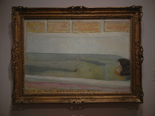 Pierre Bonnard, Legion of Honor, SF - The Bathtub or The Bath _ 1866