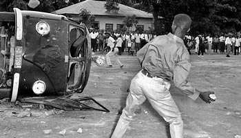 Congo émeutes