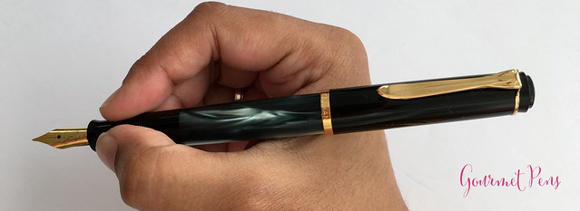 Review Pelikan Tradition Series M200 Green Marble Fountain Pen @Goldspot (22)