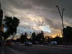 Luego de la lluvia en Santiago