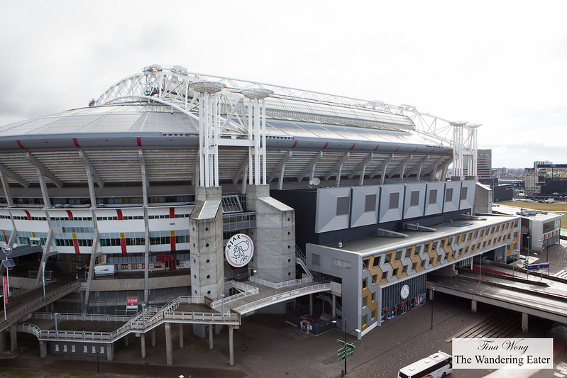 Amsterdam Arena next door to Jaz Hotel Amsterdam
