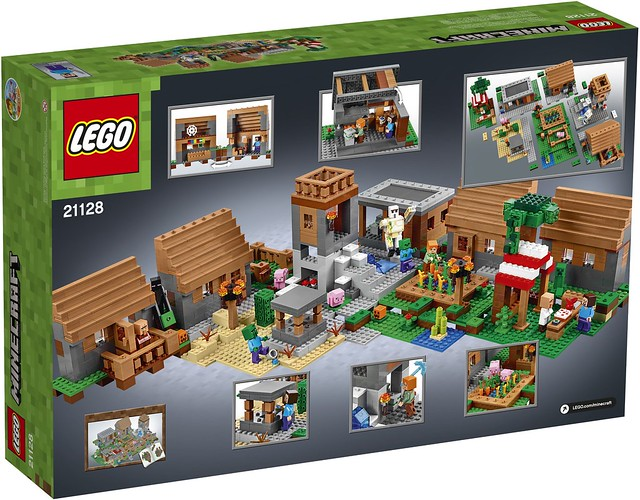 LEGO Minecraft 21128 The Village 02