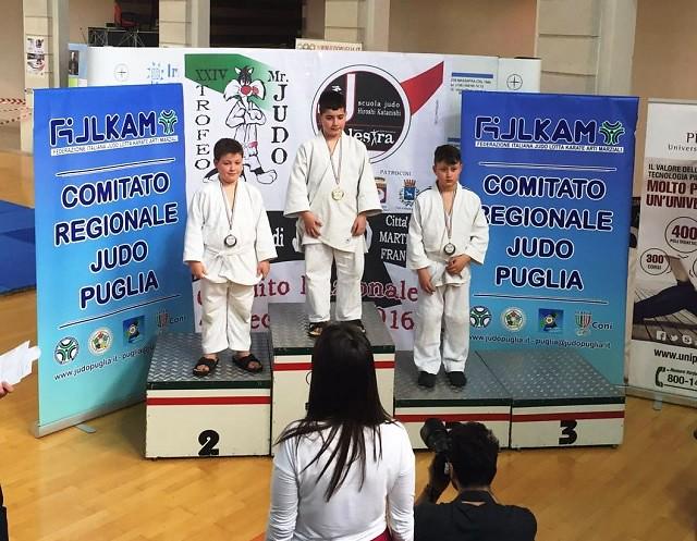 Noicattaro. Trofeo judo intero