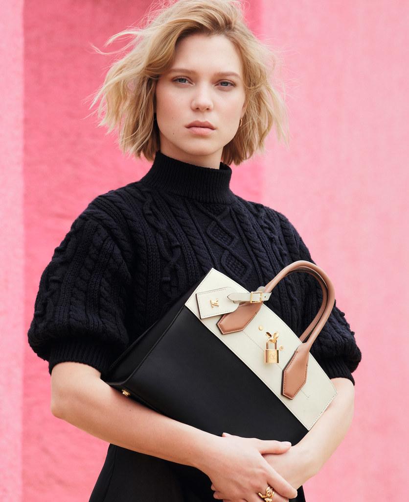 Леа Сейду — Фотосессия для «Louis Vuitton» ST 2016 – 10