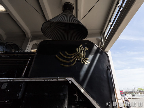 Umekoji Steam Locomotive Shed (15) side of C58-1 (Royal train style)