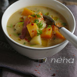 thai-jellegű krumplileves
