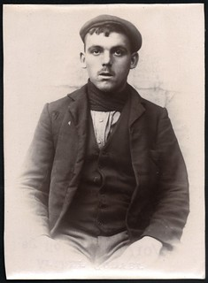 Arthur Convery, miner, arrested for stealing from a gas meter