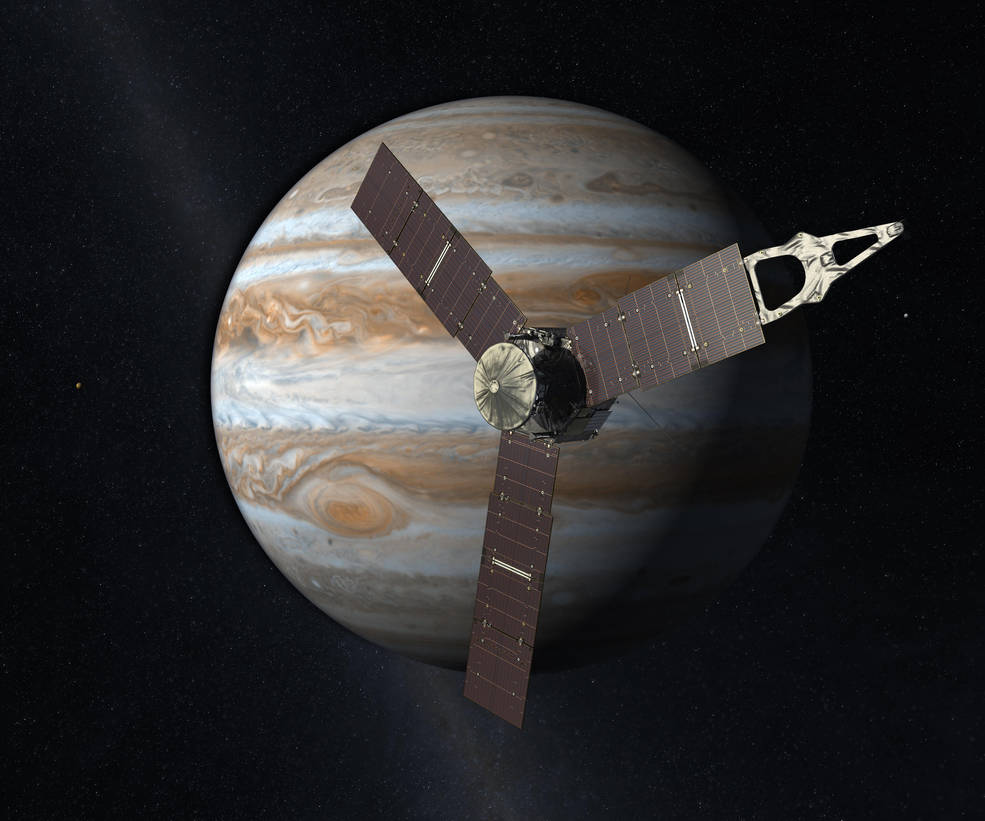 NASA's Juno Spacecraft Breaks Solar Power Distance Record