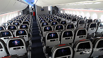 American Airlines B787-8 Economy Class (RD)