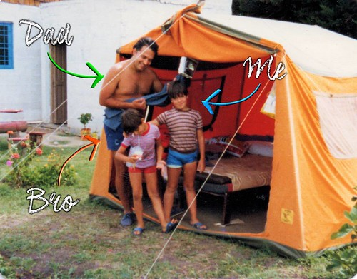 Back in early 80's life was this way for me. On camping-vacation at grandparents house in Camet, Mar del Plata, Argentina.  #tbt #throwbackthursday #throwbackthursdays #tbts #mardelplata #camet #parquecamet #mdp #mdq #camping #tent #throwback #tb #instatb