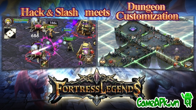 Fortress Legends MMORPG v4.1 hack full cho Android