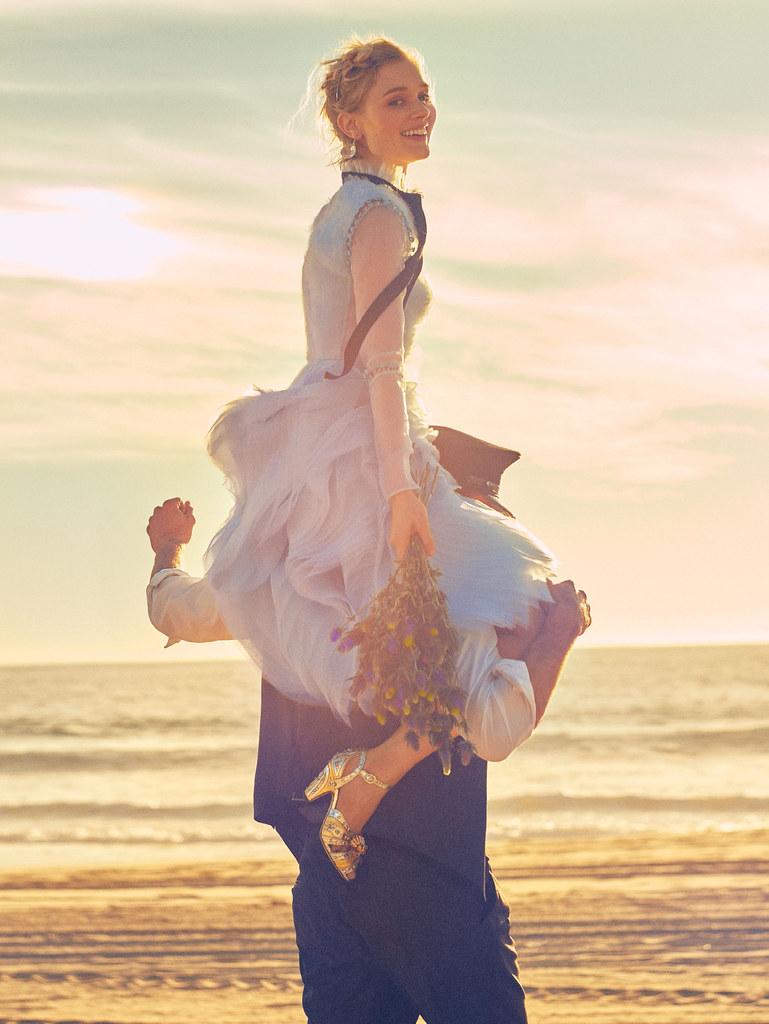 Белла Хиткот — Фотосессия для «Glamour» 2016 – 3