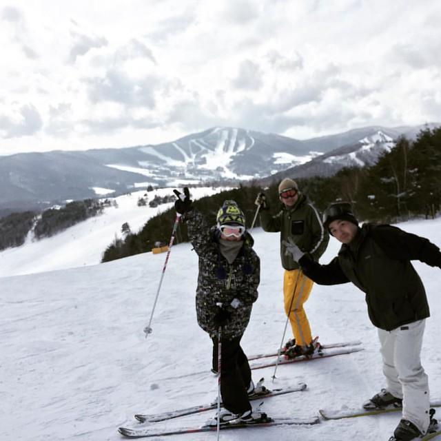 Photo:39本滑りました! すげえ楽しかった圧雪ハードパック、練習になったなあ。 #菅平高原スキー場  #スキー #ski By Tatsumine