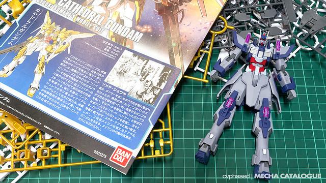 HGBF Denial Gundam - Completed Build