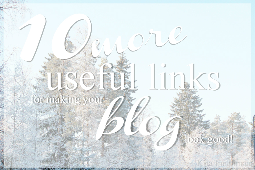 useful links for blogging