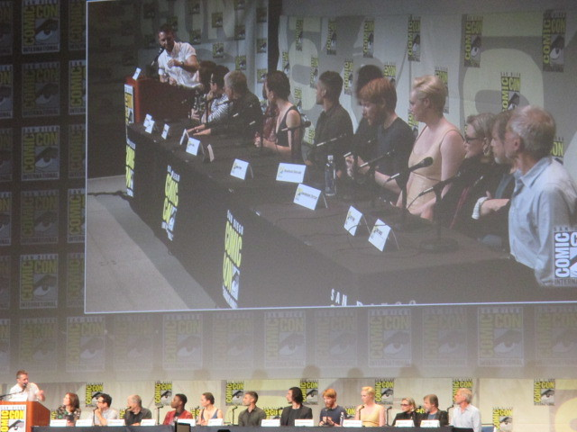 The full panel of Star Wars The Force Awakens at Hall H by Peter Lee