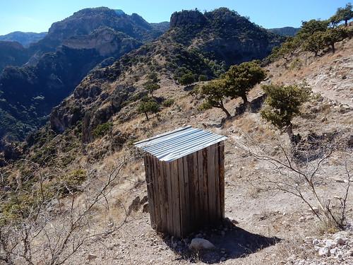 Parque de Aventura Barrancas del Cobre - outhouse